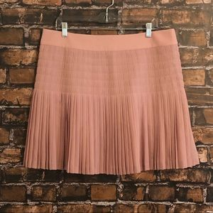 J. Crew blush pink mini skirt